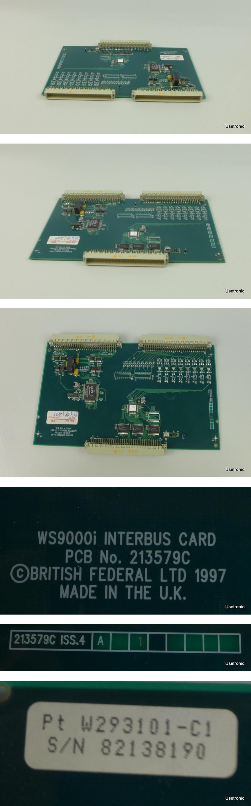 British Federal Interbus Card 213579C